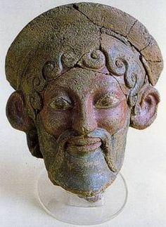 Roselle. Maschera etrusca
