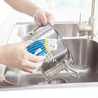 Creative Sea Lion Sponge Rub Kitchen Thicker Cleaning Decontamination Dishwashing Sponge Brush Brush Pot Magic Rub