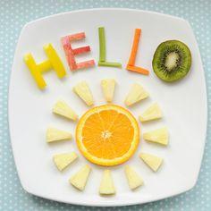 Cute Snack Idea: Hello Sunshine!
