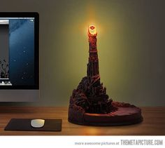 eye of Sauron desk lamp…Woah even though this is pretty cool I don't think I want that..............