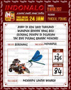 Jitu 6D Togel Wap Online Indonalo Pangkal Pinang 11 April 2017