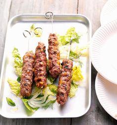 Lamm-Kebab, grillen, Grill Rezepte, lecker, kochen, Sommer, Essen, Fleisch, Kochhaus
