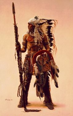 Sioux Subchief By James Bama