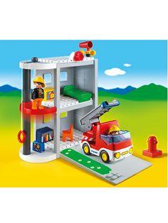 123 Take Along Fire Station #Playmobil 6777 #educationaltoys