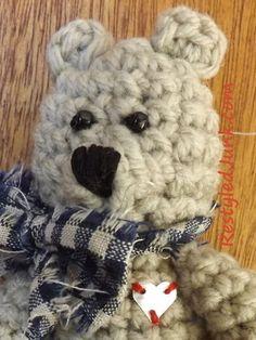Mini Teddy Bear Crochet Pattern | FaveCrafts.com