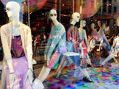 Prom window at TOPSHOP 214