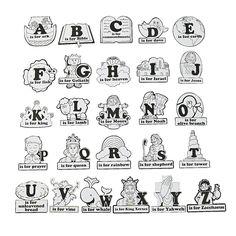 Alphabet Bible Posters $