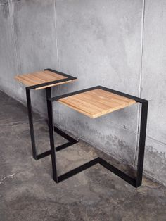 The Brink Cantilevered End Table by StockpileDesigns on Etsy