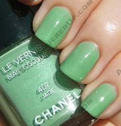 St. Patty's? If there is a new color out there, Chanel did it first...I'm talking to you Dior Waterlily