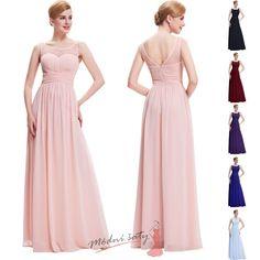 9055e77de79 Jemné šaty do tanečních s průhledným živůtkem - více barev Chiffon