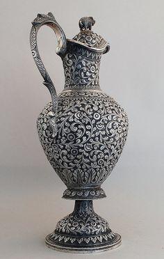 Indian silver Jug