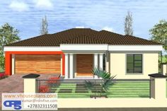 Tuscan House Plans, My House Plans, House Floor Plans, 4 Bedroom House Designs, Three Bedroom House Plan, Single Storey House Plans, House Plans South Africa, Building Costs, Site Plans