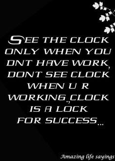 Clock is a #lock