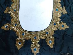 This type name is maggam embroidery design