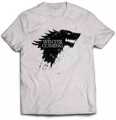 playeras game of thrones, juego de tronos, en promocion