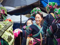 ethnic minorities in Sapa