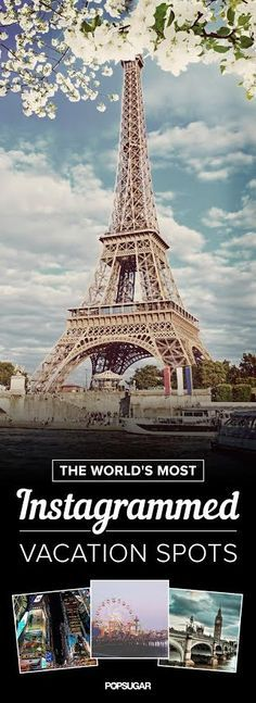 The World's Most Instagrammed Vacation Spots Guy Kawasaki, Worldwide Travel, Travel Abroad, Vacation Spots, Places To Visit, Social Media, Madness, Instagram, Tower