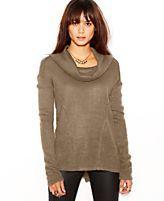 Sanctuary Freestyle Long-Sleeve Cowl-Neck Sweater