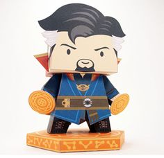 Paperized: Dr. Strange Paper Toy