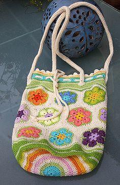 Ravelry: KnitAngel's Blumenbeutel