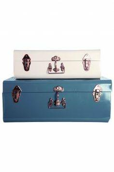 House Doctor / Plechový úložný kufr