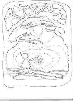 trasparente 1trasparente 1 ridimens Autumn Crafts, Holiday Crafts, Paper Art, Paper Crafts, Rena, Waldorf Crafts, Nature Table, Window Art, Kirigami