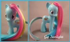 G4 Sunlight custom pony by hannaliten.deviantart.com on @deviantART