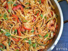 Cajun Chicken Pasta ~ International Recipes - Foods and Drinks