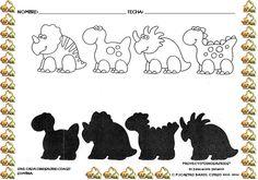 Os dejamos más actividades impresas, de elaboración propia,sobre el proyecto de los dinosaurios.                                         ...