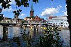 Blick auf die Liebesbrücke © FotoMarathon 2014
