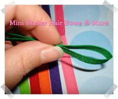 Mini Korker Hair Bows & More: How to Make a Hair Bow for Daisy Scouts