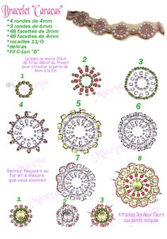 Free Seed Bead Flower Patterns | seed beads (delica)