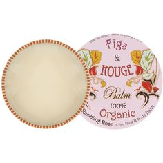 Figs & Rouge Rambling Rose 100% Organic Lip Balm - As a lipbalm junkie, this is it. The best lip product on the planet!