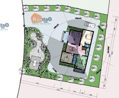Thiết kế mẫu nhà biệt thự đẹp 2 tầng 1