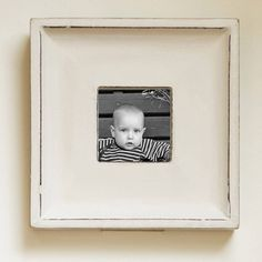 square gesso picture frame by all things brighton beautiful | notonthehighstreet.com