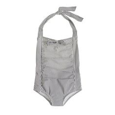 Crewcuts:  ruche hour tank in seersucker. So cute, too bad I know the sizing on their girls swimsuits is terrible.