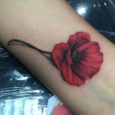 poppy tattoo - Google Search...Awesome!