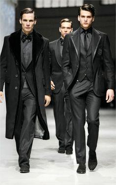 Corneliani, black ... Black for men