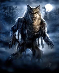 Wolf Man... by ~chrisscalf on deviantART