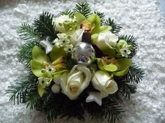 """2014-12 art floral """"Noël"""""""