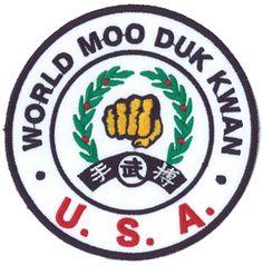 United States World Moo Duk Kwan affiliation patch Tang Soo Do, National Festival, The Grandmaster, Taekwondo, Black Belt, Holidays And Events, Karate, Martial Arts, My Love