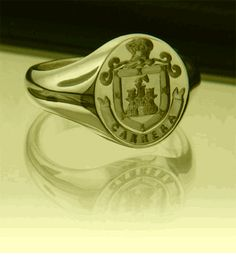 Coat of Arms Rings - Gold