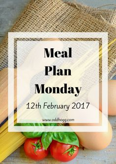Hooray! Meal Plan Monday has returned! I am so pleased to actually have a meal plan for this week. We've decided to mix things up a bit though – got to keep things interesting! Not content with our usual way of shopping, we're now allocating a portion of