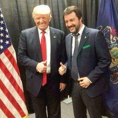 Innanzi tutto per essere un vero membro del neofascismo contemporaneo devi essere biondo. Fa specie, caro Salvini, che proprio tu fai finta di non notare che tutti gli uomini che ammiri, Trump, Johnson e la Le Pen, sono biondi. Tu, invece, caro mio, sembri un narcos che ha appena attraversato il Nicaragua nel motore di bus di minatori.