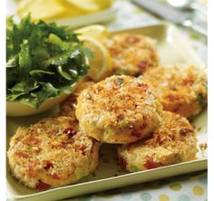 With lots of veggies and starchy potato in these salmon cakes, all you need is a salad to make a complete meal. Fish Cakes Recipe, Fish Recipes, Seafood Recipes, Vegetarian Recipes, Healthy Recipes, Recipies, Salmon Cakes, Crab Cakes, Clean Eating Recipes