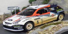 Network Q Rally of Great Britain 2002 Ford Focus RS WRC Sainz/Moya 1/43