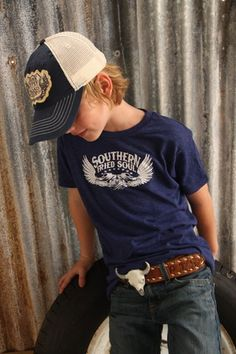 Such a cute country outfit for my son.  Looks like the buckle could do some damage but still cute --krr