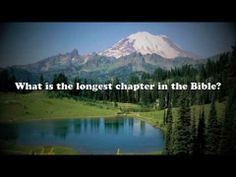 You won't believe whats at the center of the Bible!