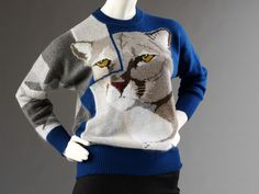 *Currently on display in The Glamour of Italian Fashion 1945 - 2014* Jumper, Krizia, about 1985