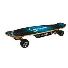 Maverix Cruiser 600W Electric Skateboard, Blue